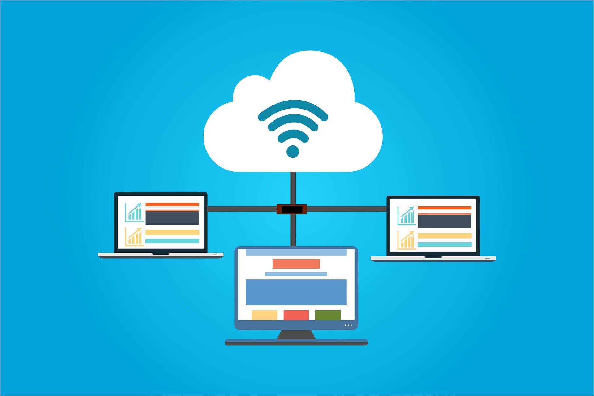 cloud computer website hosting