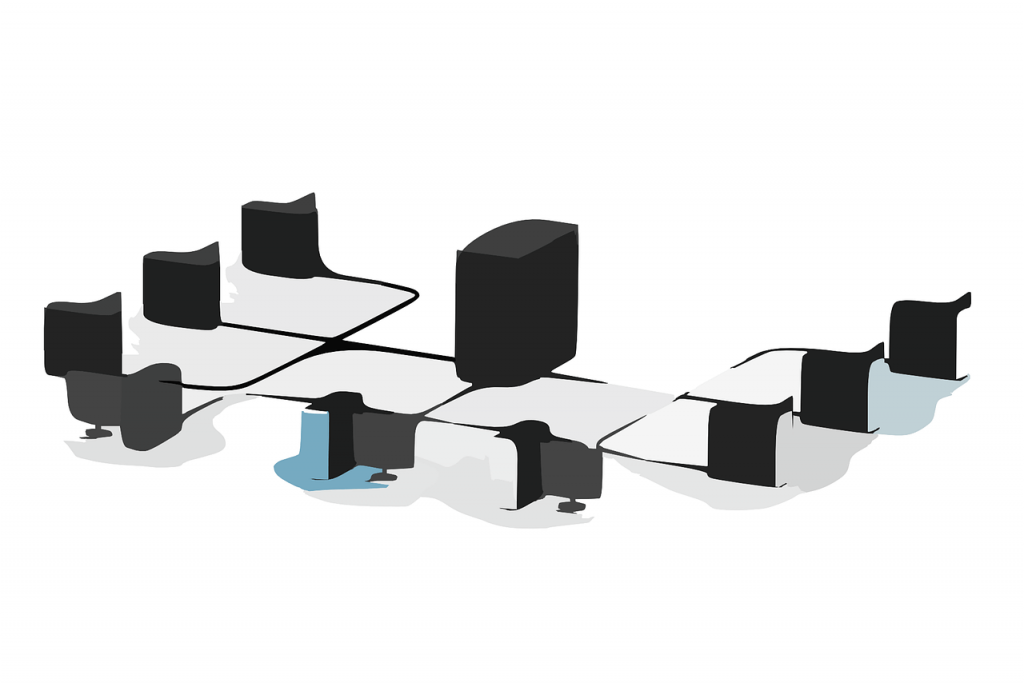 server connected website hosting