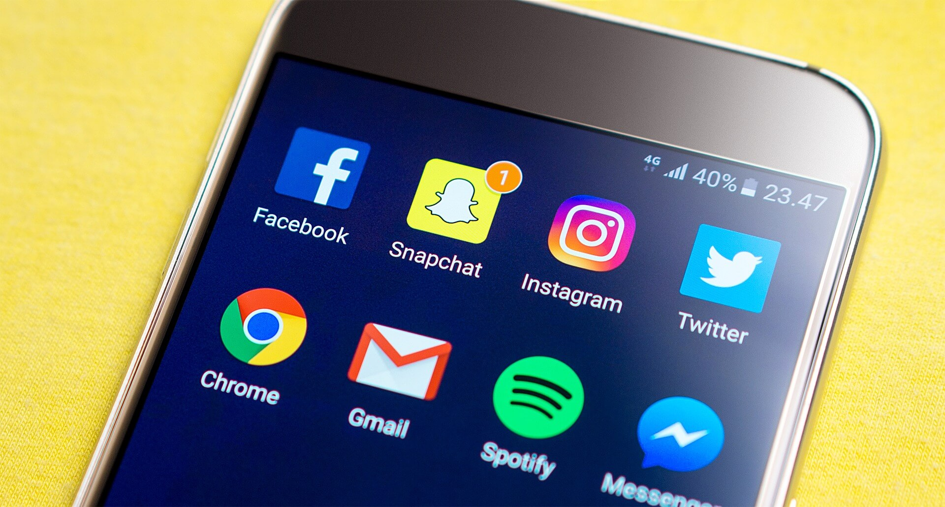 pametni telefon Upravljanje Družbenih Medijev