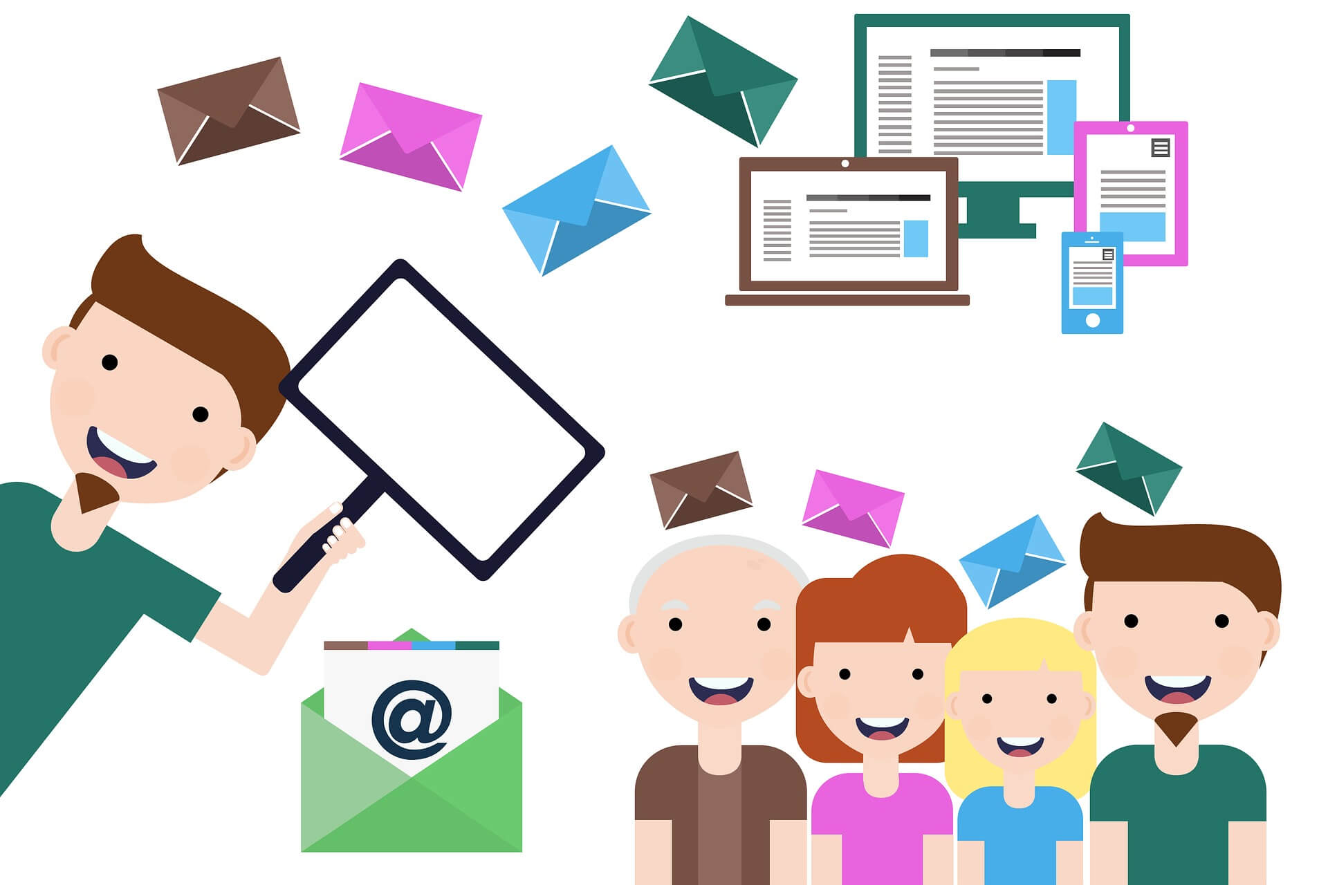 people envelop email marketing