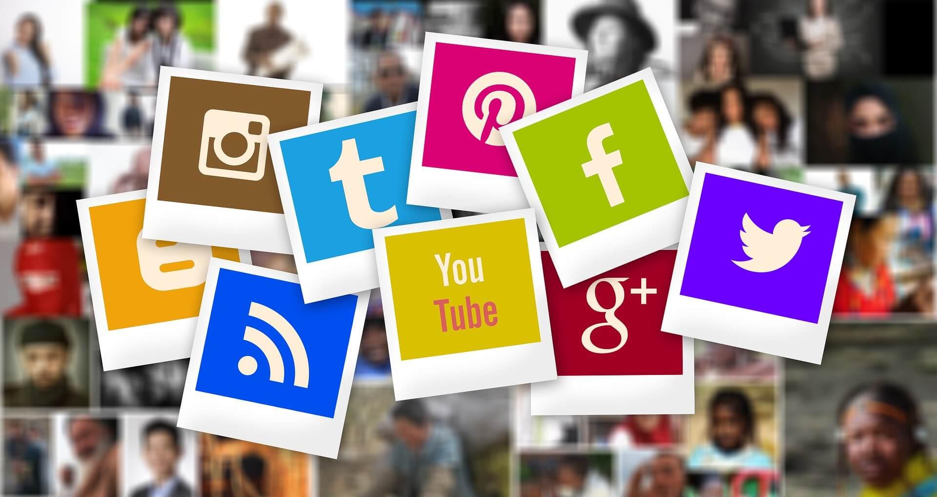 polaroid icons social media marketing