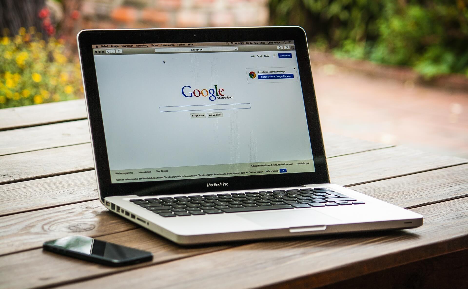 prenosni računalnik Google Za Vaše Podjetje
