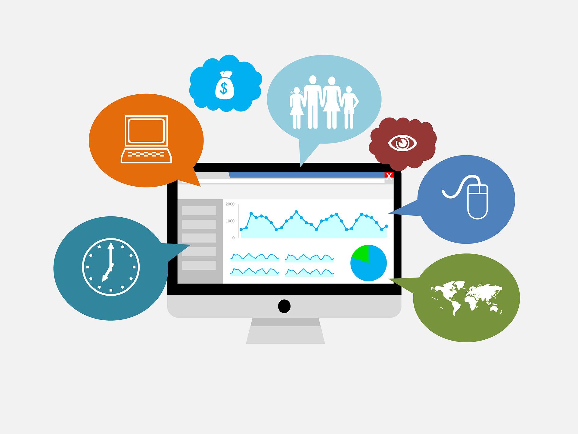 statistics icon google analytics service