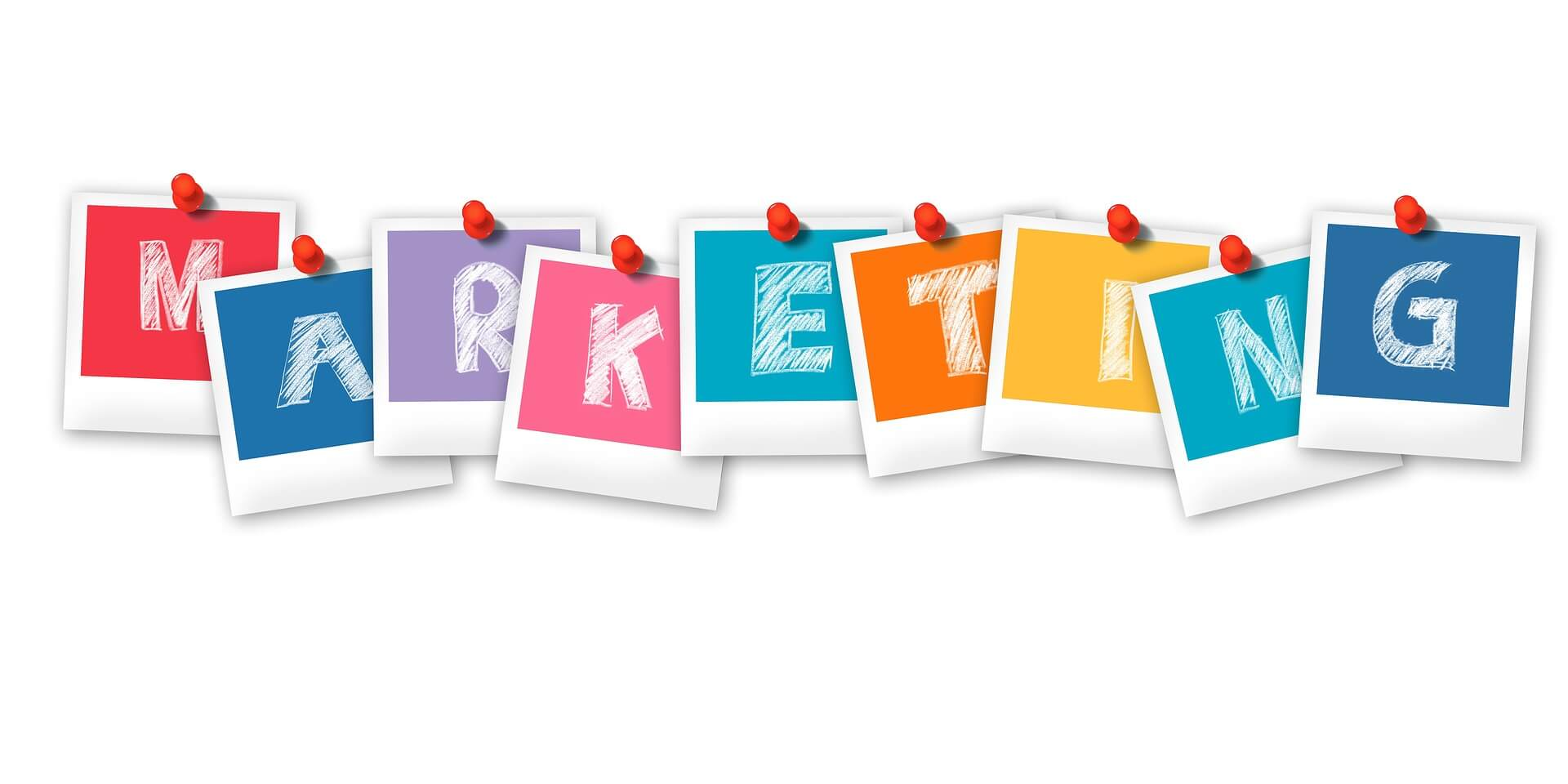 vector letter online marketing