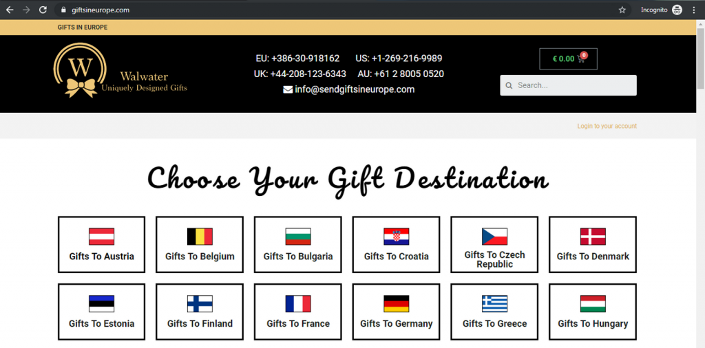 Gifts In Europe