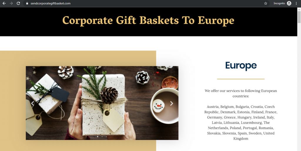 Send Corporate Gift Basket