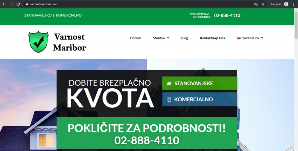 Varnost Maribor
